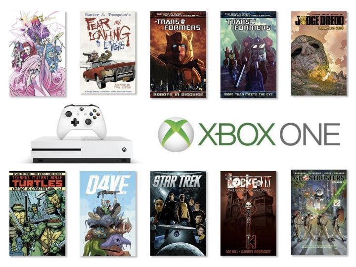 IDW Comics Now On XBox One, With 10 Free Graphic Novels – Turtles, Jem, Judge Dredd, Ghostbusters, Star Trek, Transformers…