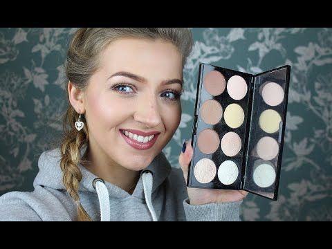 Makeup Revolution Ultra Contour Palette Review & Swatches!!