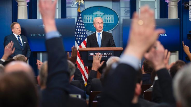 Health and Human Services Secretary Tom Price said Sunday that the House Republican health care plan will not leave anybody worse off, prompting the conservative news site Breitbart to question in bold type whether that wouldn't turn out to be a fib.