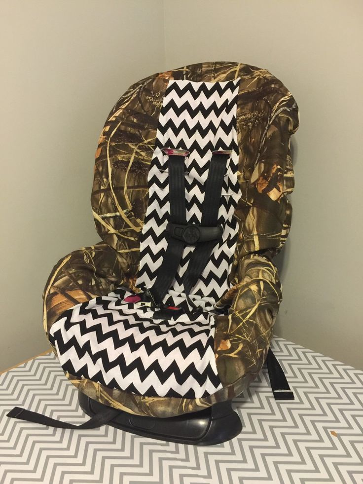 A personal favorite from my Etsy shop https://www.etsy.com/listing/273561482/camo-chevron-toddler-car-seat-cover-you