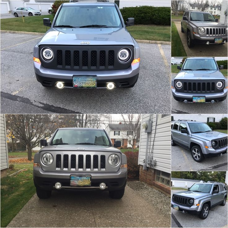 Jeep Patriot Halo Headlights Custom Install Jeep