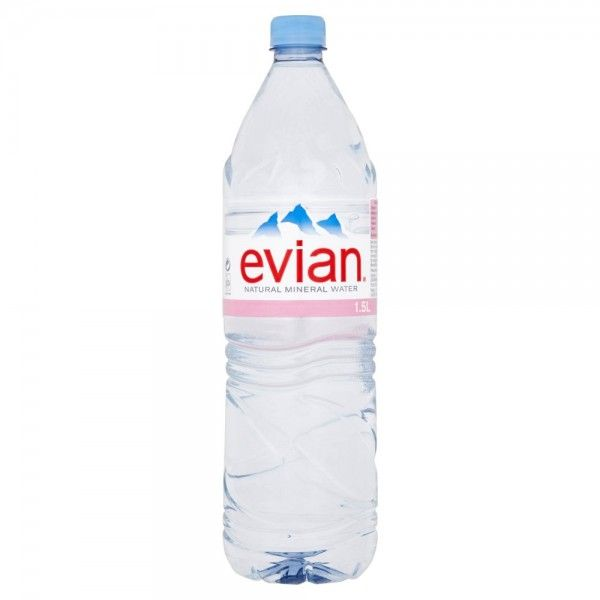 Naturally Pure From The French Alps Pack Of 1 5l Natural Mineral Water Mineral Water Evian