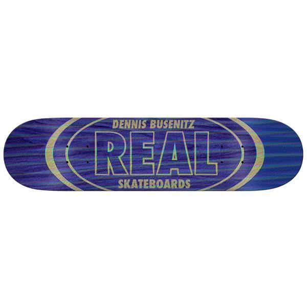 Real Skateboard Deck Busenitz Holo Oval 8.5 | snapchat @ http://ift.tt/2izonFx