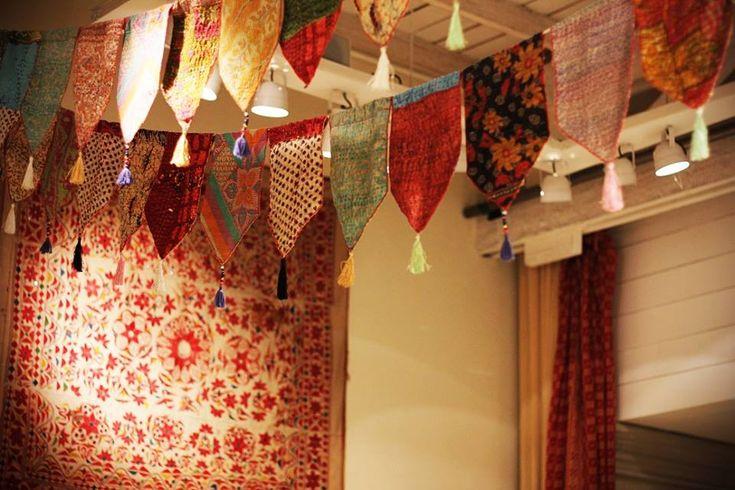 Banderines de telas. #Fiestas #DecoFiestas
