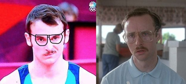 Doppelgangers of the 2012 Olympics