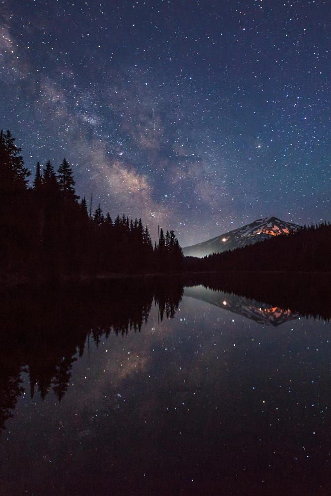 Milky Way Over Mt. Bachelor by eleonoracaruso99 on 500px
