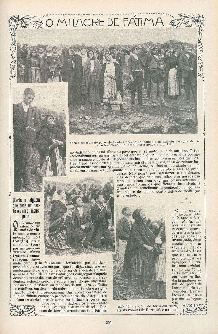 Deň, kedy sa Slnko Danced: Fatima 1917