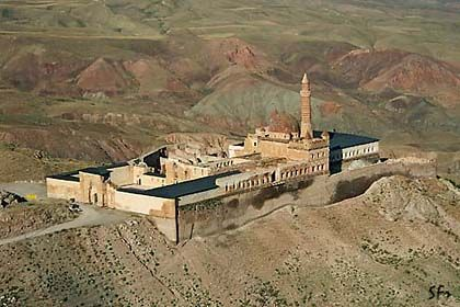 Pevnost Ishak Pasha Saray, Turecko