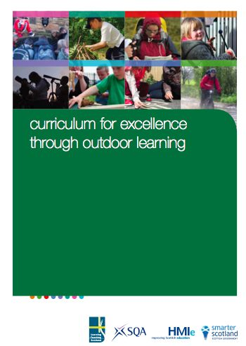 I'm a teacher, get me OUTSIDE here!: A Curriculum for Excellence Through Outdoor Learning- a wonderful free resource from Scotland- lots of ideas