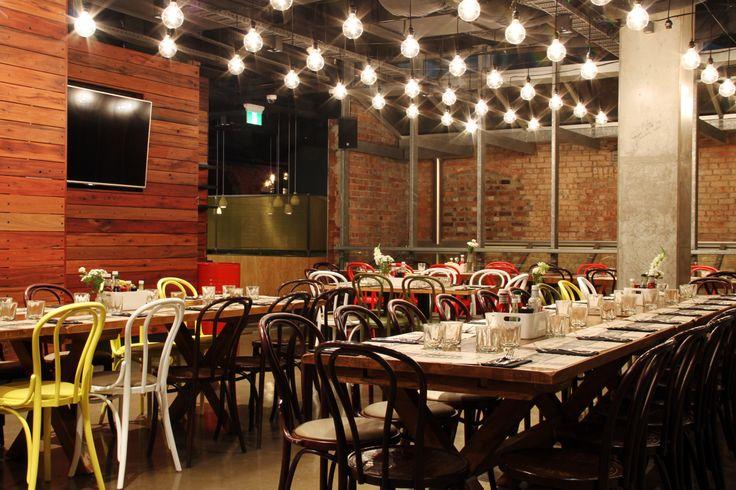 The Duke Dining Room. Home to some of Melbourne's finest pub food. To view the menu, visit http://dukeofwellington.com.au/s/menus