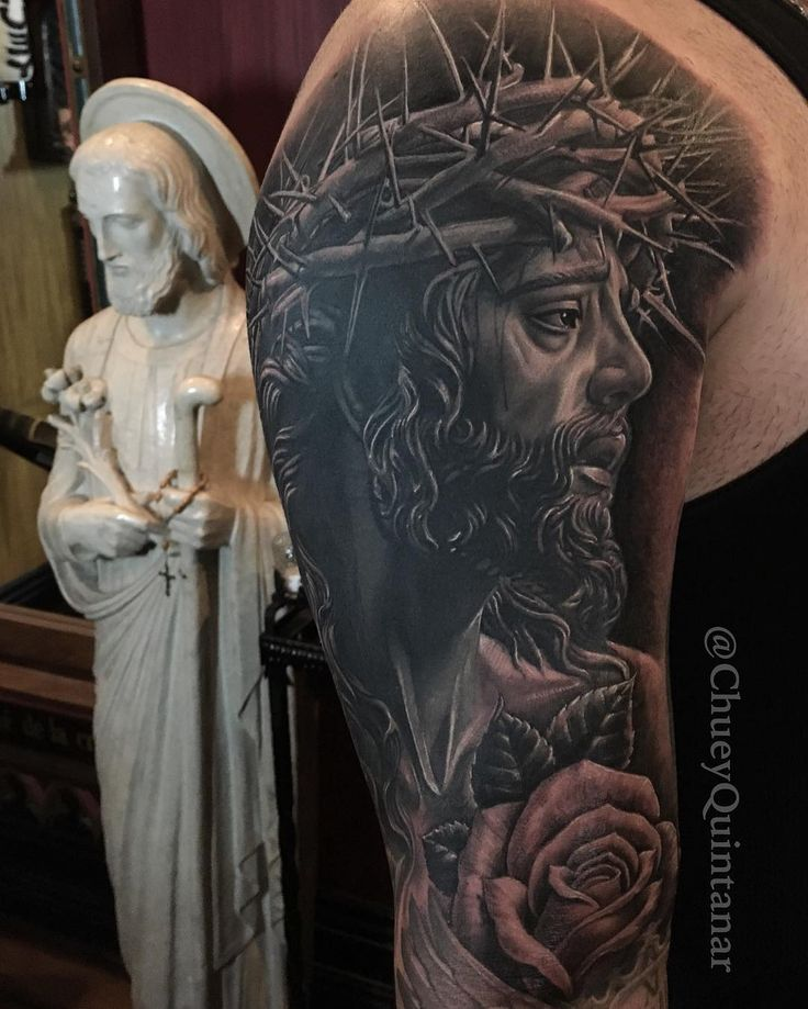 Best 25+ Christ Tattoo Ideas On Pinterest