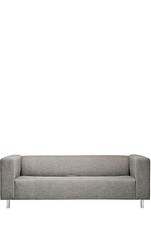 "If you're looking for comfort and style, our Camden 3 Seater sofa offers just that. With a compact urban shape and a hint of retro style, this 3 seater sofa has clean lines and is upholstered with a textured polyester weave.<div class=""pdpDescContent""><ul><li> Polyester </li><li> Chipboard"