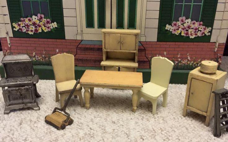 65 best strombecker images on pinterest dollhouse for Bedroom furniture 98383