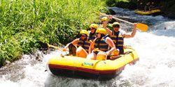 bali rafting - action
