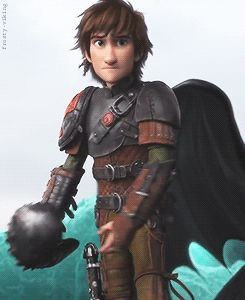 No no no no no no no no! This is the scene where Hiccup tries to reason with Drago and... Well, if you've seen the movie, you know the rest. :,(