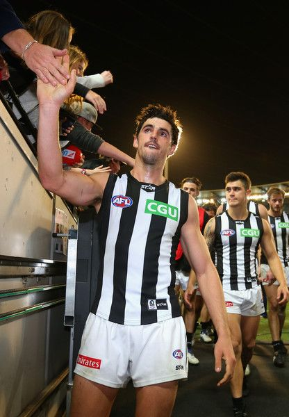 Scott Pendlebury Photos - AFL Rd 11 - Collingwood v GWS - Zimbio
