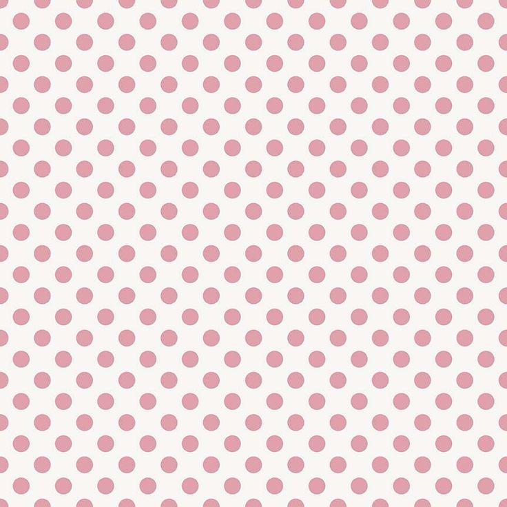 RBD/Garden Girl - BAVLNA - Puntíky RŮŽOVÁ/PINK