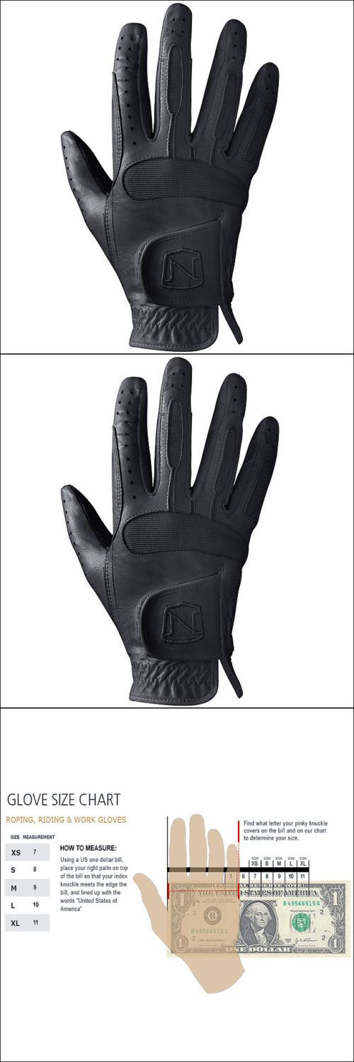 Riding Gloves 95104: Size 9 Noble Outfitters Horse Riding Flexible Show Ready Leather Glove Black -> BUY IT NOW ONLY: $34.95 on eBay!