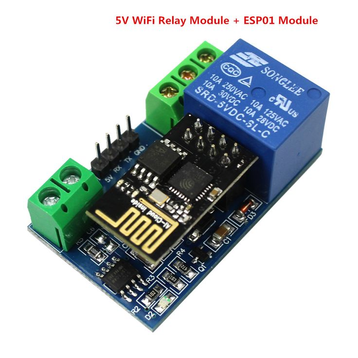 Smart  Electronics  5V WiFi Relay Module Things Smart Home Remote Control Switch Phone APP for ESP8266