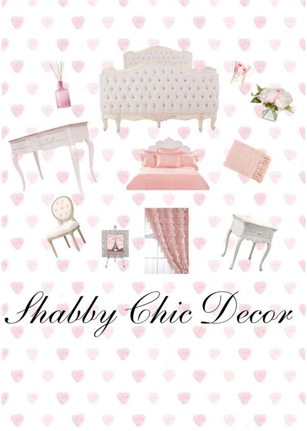 Una idea para decorar tu dormitorio o el de tu hija estilo - Decorar estilo shabby chic ...