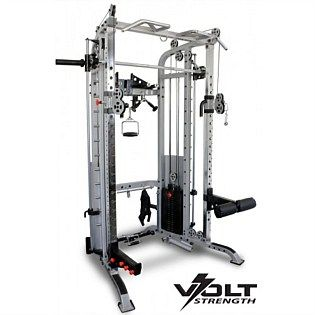 The Volt Strength Functional Trainer w/200kg Weight Stack is the complete strength package built to commercial standards.