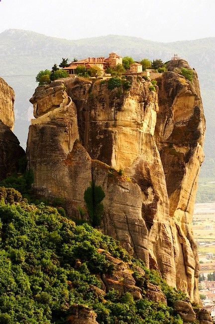 Agia Triada Monastery, Monasteries of Meteora, Thessalia, Greek Mainland,