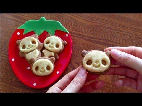 ▶ Kawaii cooking : how to make panda cookies - YouTube