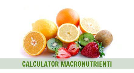Calculatorul nutrientilor din dieta ta