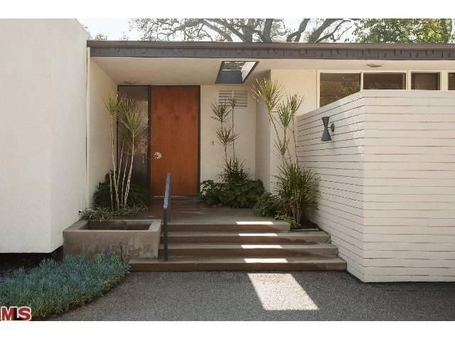 "Exceptionally pristine Mid-Century Modern ""California House,"" 1959, Encino, CA"