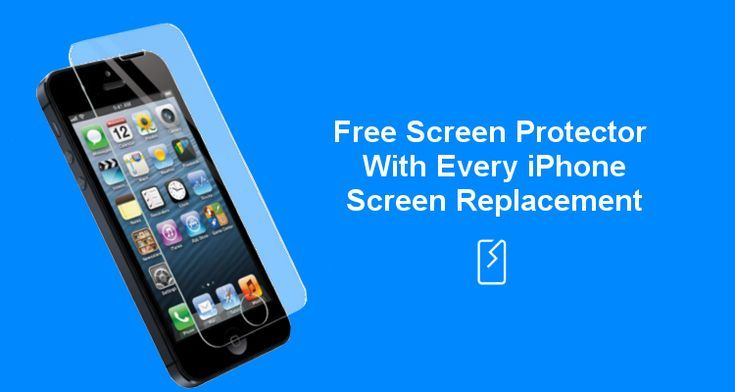 Free Screen Protector With Every Iphone Screen Repair Iphone 6