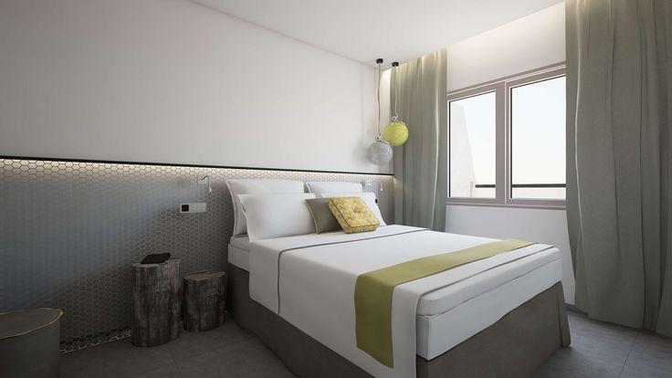 Aspalathos Junior Suite -Bedroom, Elakati Luxury Boutique Hotel, Rhodes , Greece