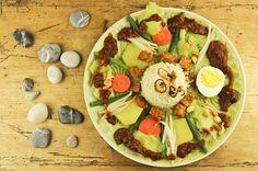Indonesien, Indonesisches, Kochen, Gerichte, Rezepte, Klassiker, Gado-Gado, vegetarisches, Essen, Speisen, Küche, Zutaten, www.wo-der-pfeffer-waechst.de