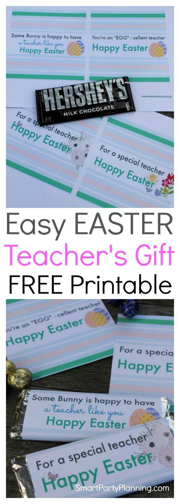 249 best free teacher appreciation printables images on pinterest easy easter teacher gift the kids will actually want to give negle Image collections