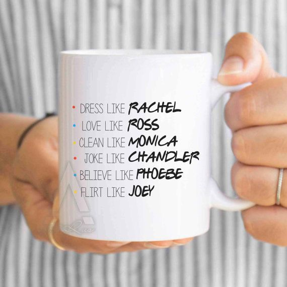 FRIENDS TV Show Mug, christmas gifts, f.r.i.e.n.d.s, best friend mugs, phobe…