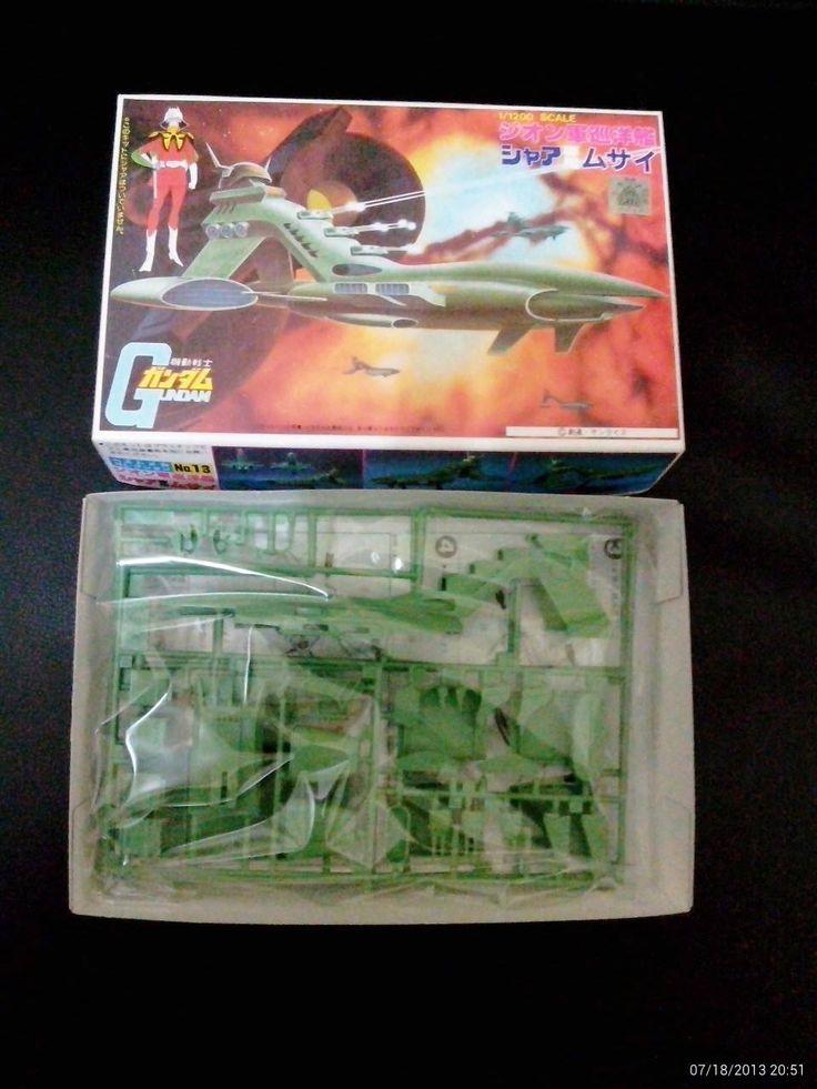 1/1200 MUSAI CHAR'S Bandai 1995
