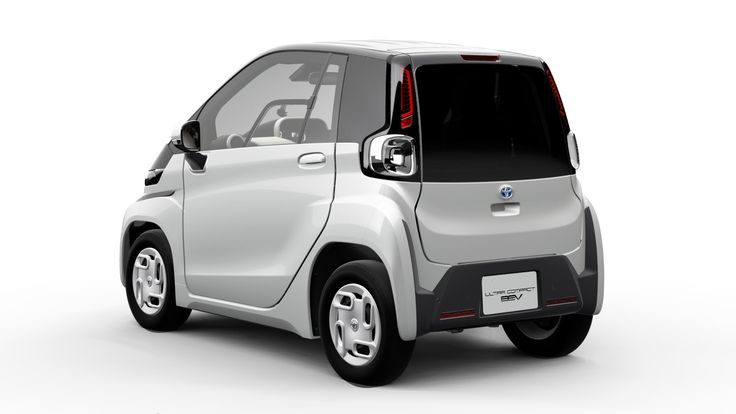 Toyota Ultra-Compact BEV revealed ahead of 2019 Tokyo Motor Show