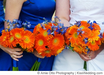 212 best images about Wedding Ideas - Autumn 2: Blue and Orange on ...