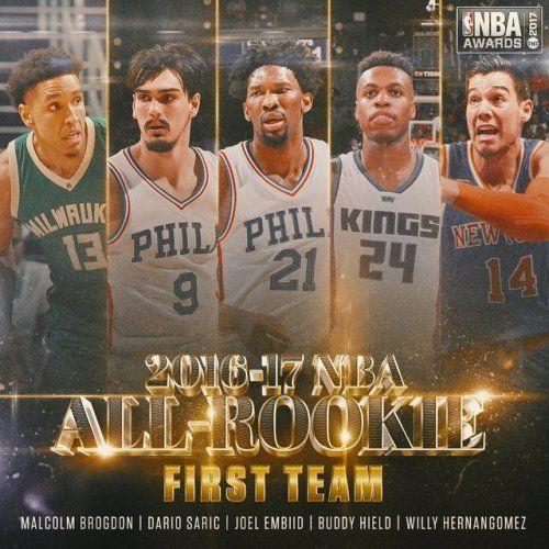 2016-2017 NBA All-Rookie Team (First Team)    http://ift.tt/2sn1WFb
