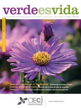 Revista verde es vida otoño invierno 2013 Revista de jardinería de la Asociación Española de Centros de Jardinería