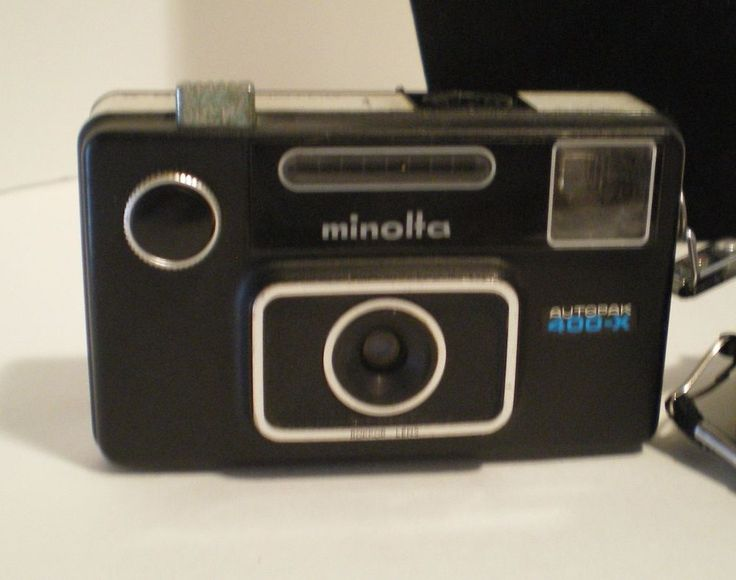 Vintage Cameras AutoPak 400X Minolta 126 mm & Keystone XR308 110 film Untested #MinoltaKeystone