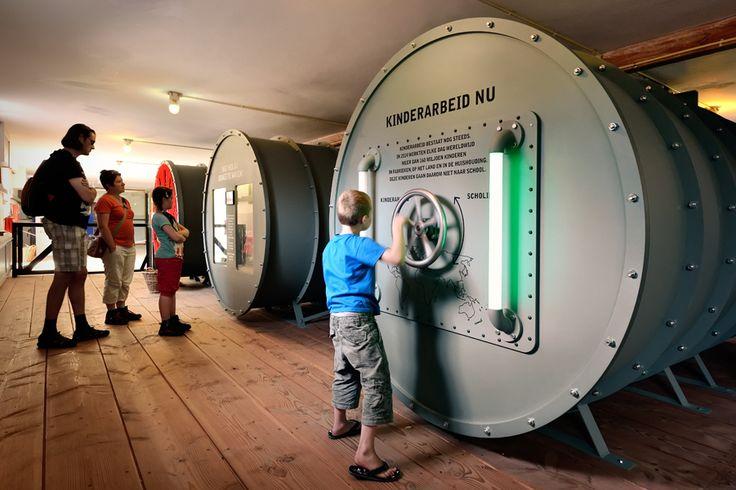 Kinkorn - Tilburg : Nederlands Openluchtmuseum Arnhem; Kinderarbeid, niet in mijn tijd