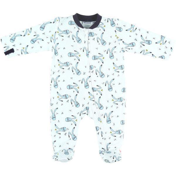 Pyjama Grenouillere En Jersey Noukies En Promotion En 2020 Pyjama Grenouillere Pyjama Et Grenouillere