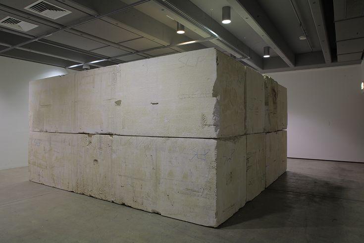 Polymer Monoliths , 2009, Polystyrene, , unique artwork, Photo: Richard Stringer, Exhibition view at Institute of Modern Art, Brisbane, Australia