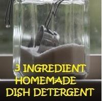 3 Ingredient Homemade Dish Detergent by everydaykristin