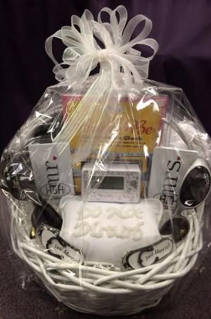 ... Basket on Pinterest Wedding night lingerie, Honeymoon gift baskets