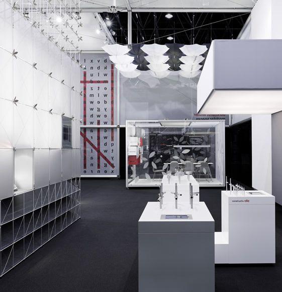 Award Winning Exhibition Stand Design : Burkhardt leitner exhibition stand dynamic bold and award