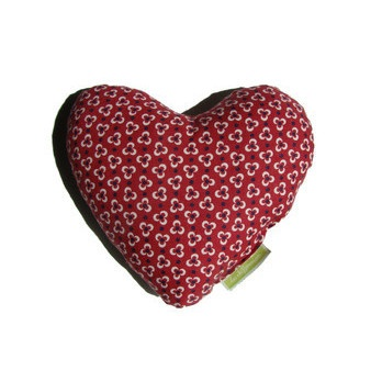 Bouillotte originale coeur rouge