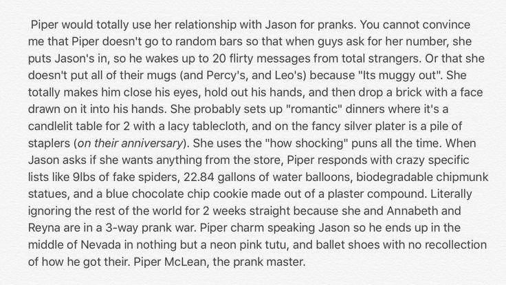 Piper the pranks master