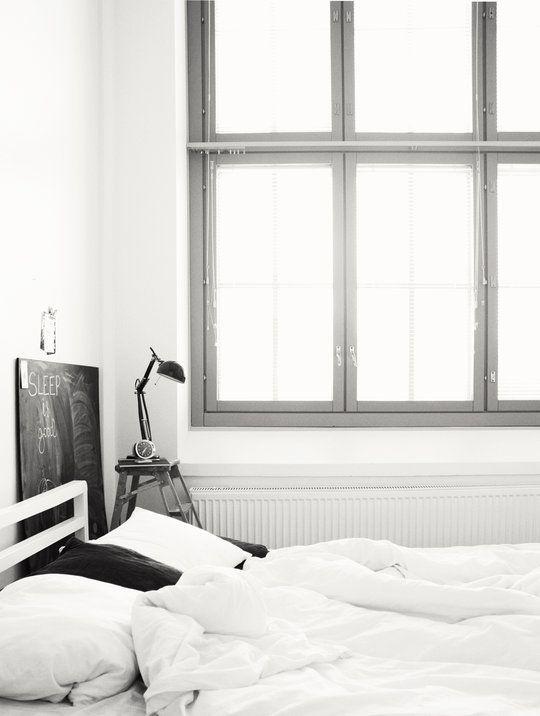 <3Home Interiors, Big Windows, Bedrooms Design, Design Interiors, Interiors Design, Black White, Design Bedrooms, Bedrooms Interiors, Design Home
