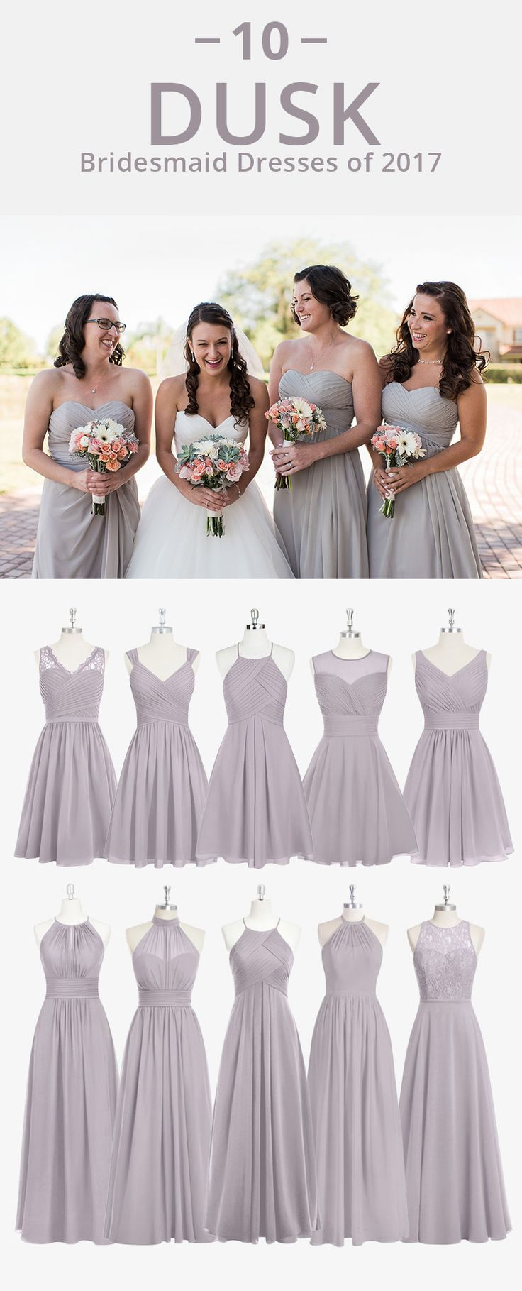 Best 25 grey bridesmaids ideas on pinterest grey bridesmaid azazie is the online destination for special occasion dresses our online boutique connects bridesmaids and ombrellifo Images